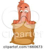 Poster, Art Print Of Sausage In Bag