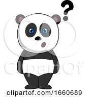 Panda With Question Marks