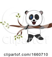 Panda On A Branch by Morphart Creations