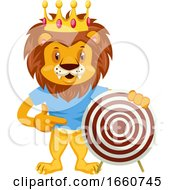 Lion With Target