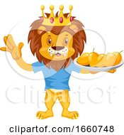 Lion With Mangoes