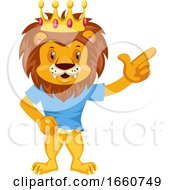 Lion Is Happy