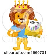 Lion With Envelope