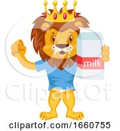 Lion With Milk