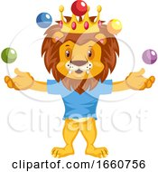 Juggling Lion