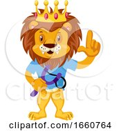 Lion With Sling Shot