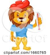 Sick Lion