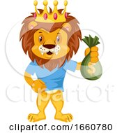 Lion With Money