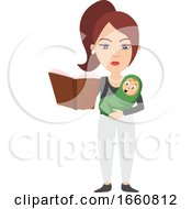 Woman With Baby by Morphart Creations