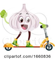 Garlic Ridding Scooter