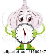 Garlic Holding Clock