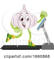 Garlic On Running Machine by Morphart Creations