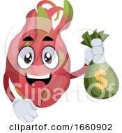 Dragon Fruit With Money