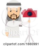 Arab With Camera