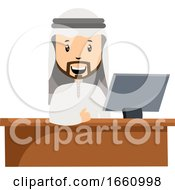 Arab At The Office