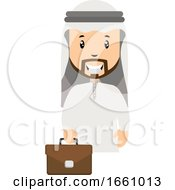 Arab With Suitcase