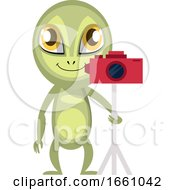 Alien With Camera