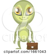 Alien With Suitcase