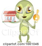 Alien Holding Key