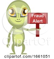 Alien With Fraud Alert