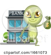 Alien At The Bank