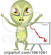 Alien With Drop In Sales