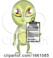 Alien With Schedule