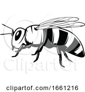 Black And White Beekeeping Design