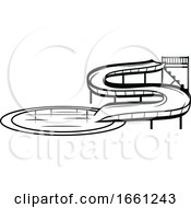 Black And White Water Park Design