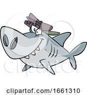 Cartoon Brother Shark