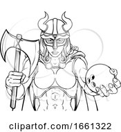 07/31/2019 - Viking Female Gladiator Bowling Warrior Woman