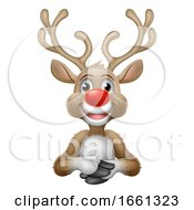 07/31/2019 - Christmas Santas Reindeer Cartoon Character