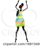 Poster, Art Print Of African Woman Dancing
