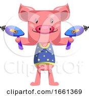 Pig With Laser Guns