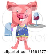 Pig With Wine