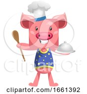 Pig In Chef Outfit by Morphart Creations