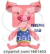Pig Feeling Sad