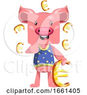 Pig With Euro Sign by Morphart Creations
