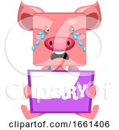 Pig With Sorry Sign