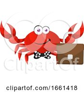 Crab With Suitcase