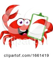 Crab With Schedule Note