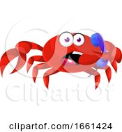 Crab With Telephone