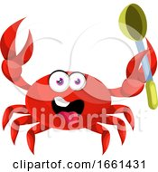 Crab With Spoon