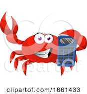 Crab With Calculator by Morphart Creations