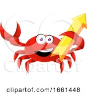 Crab With Arrow Sign by Morphart Creations
