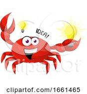 Crab Having A Idea
