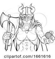 Viking Female Gladiator Golf Warrior Woman