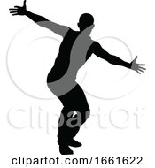 08/03/2019 - Street Dance Dancer Silhouette