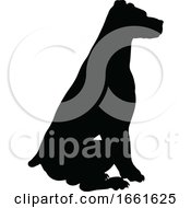 08/03/2019 - Dog Silhouette Pet Animal