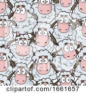 Cartoon Sheep Pattern